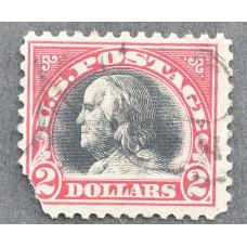 1920 Ноябрь США Бенджамин Франклин 2 доллара