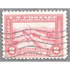 1913 Январь США Панамо-Тихоокеанский Выставочный Выпуск 2 цента