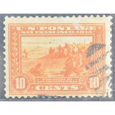 1913 Январь США Панамо-Тихоокеанский Выставочный Выпуск 10 центов