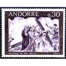 1968 Октябрь Андорра Фресковые Картины 0.30 франков