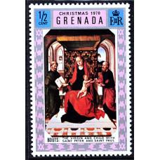1970 Декабрь Гренада Рождество 1\2 цента