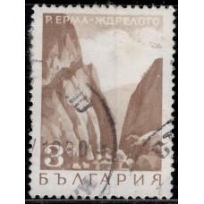 1968, май. Почтовая марка Болгарии. Пейзажи. 3 ст.