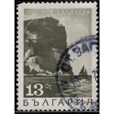 1968, май. Почтовая марка Болгарии. Пейзажи. 13 ст.