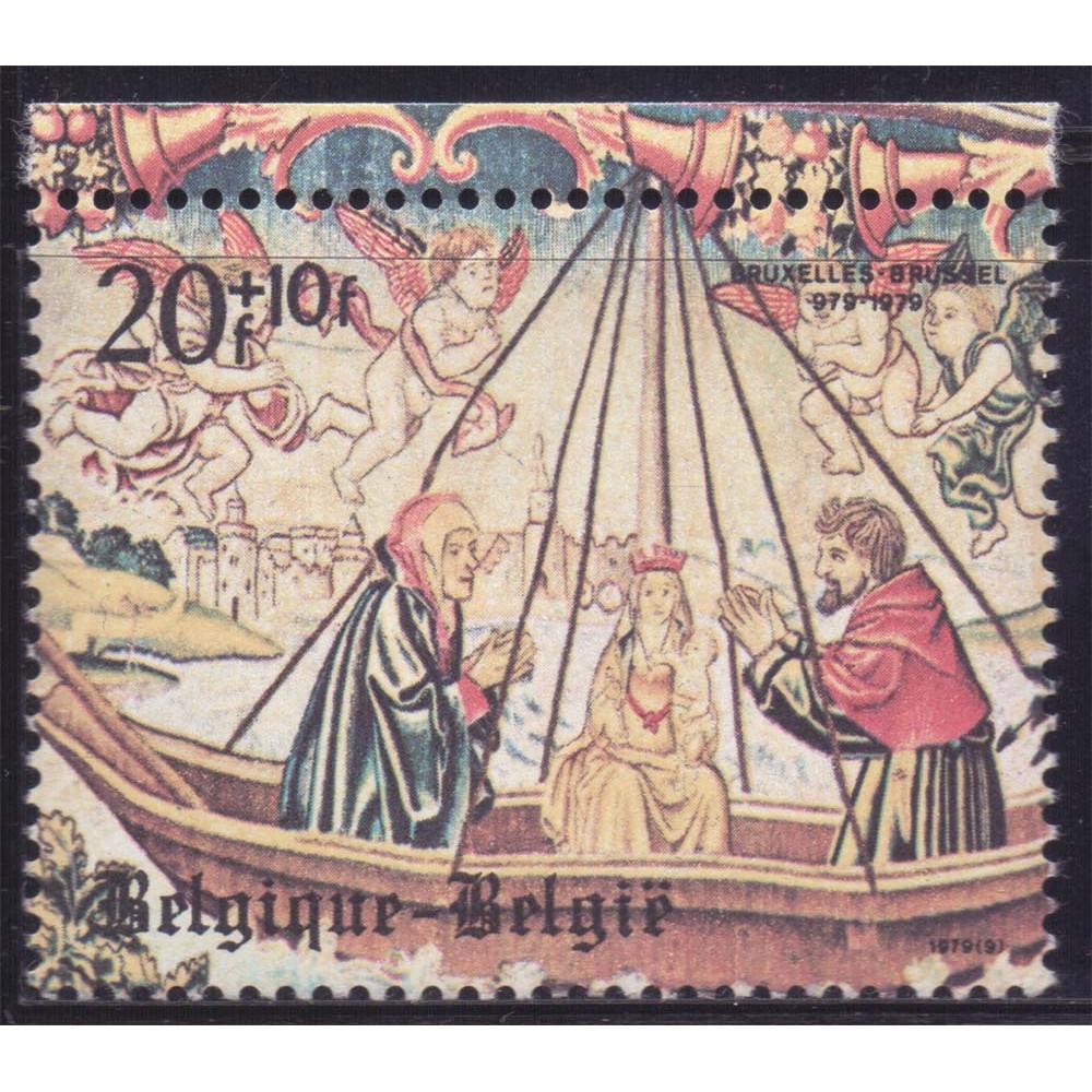 1979 Май Бельгия 100-летие Брюсселя 20+10 франков