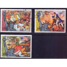 1976 Апрель Нигер Авиа 200-летие Американской Революции