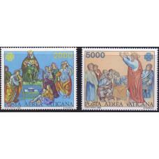 1983 Ноябрь Ватикан Всемирный Год Коммуникаций