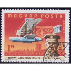 1978, май. Почтовая марка Венгрии. Пилоты и самолеты. Авиапочта