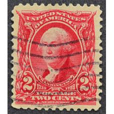 1902 США Джордж Вашингтон 2 цента