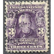 1902 США Эндрю Джексон 3 цента