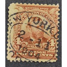 1902 США Улисс Грант 4 цента