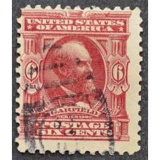 1902 США Джеймс А. Гарфилд 6 центов