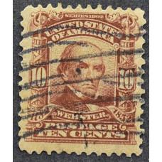 1902 США Даниел Уэбстер 10 центов