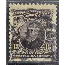 1902 США Бенджамин Гаррисон 13 центов