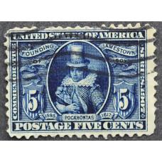 1907 Апрель США Покахонтас 5 центов