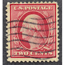 1908 США Джордж Вашингтон 2 цента