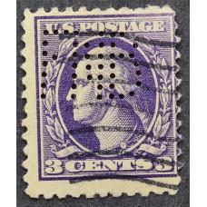 1908 США Джордж Вашингтон 3 цента