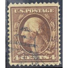 1908 США Джордж Вашингтон 4 цента