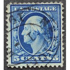 1908 США Джордж Вашингтон 5 центов