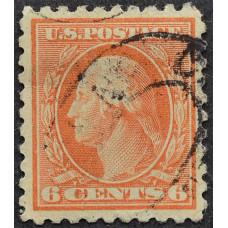1908 США Джордж Вашингтон 6 центов