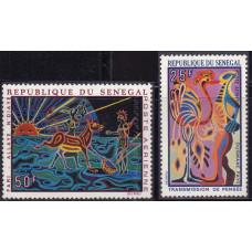 1969 Октябрь Сенегал Гобелены