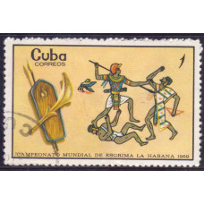 1969 Октябрь Куба Египтяне 1 сентаво