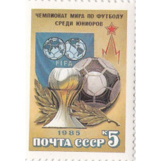 1985, август. Чемпионат Европы по футболу среди юношей