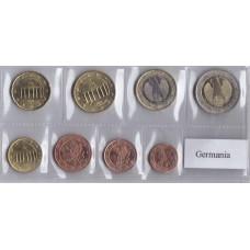 Набор монет евро Германия 2002