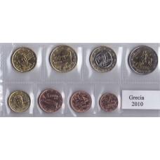Набор монет евро Греция 2010