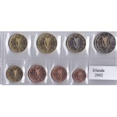 Набор монет евро Ирландия 2002