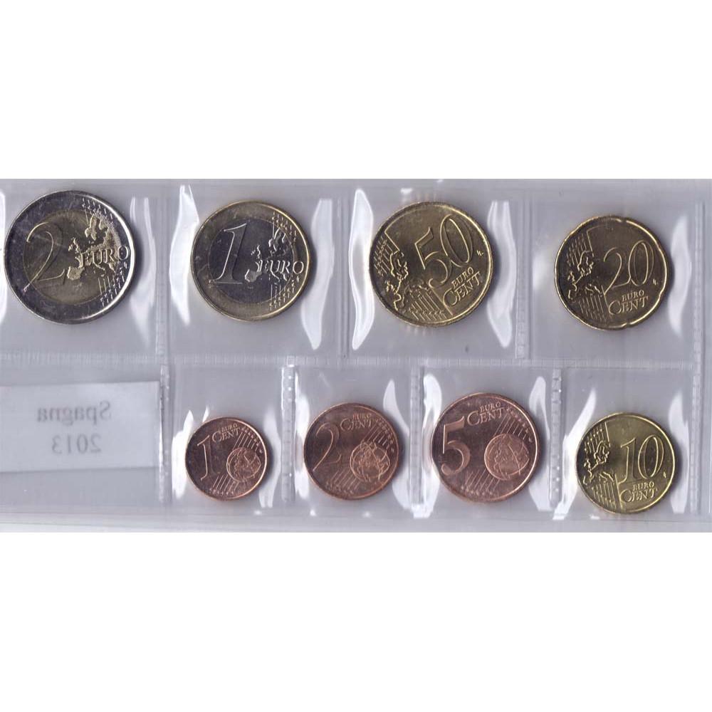 Набор монет евро Испания 2013