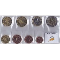 Набор монет евро Кипр 2010