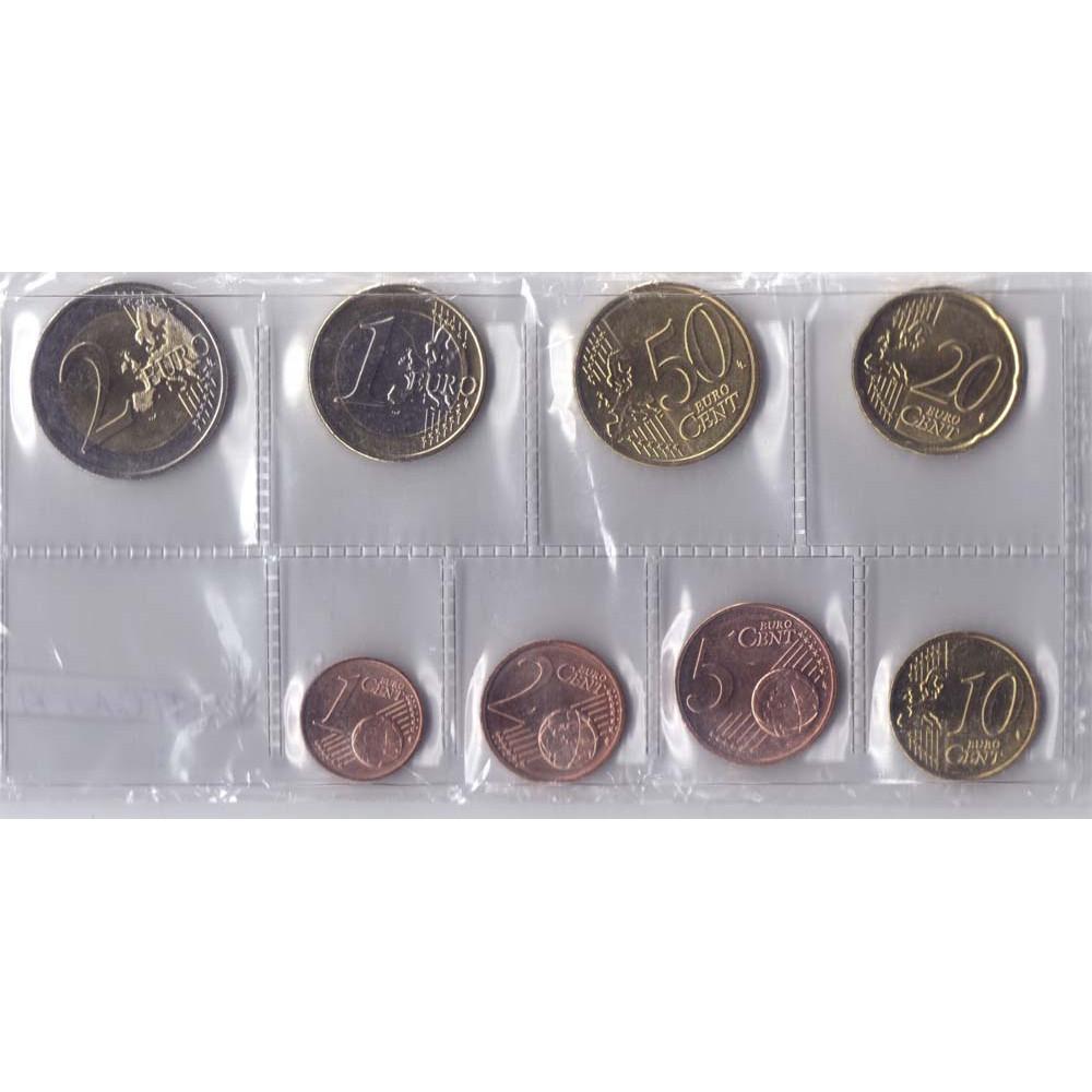 Набор монет евро Латвия 2014