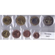 Набор монет евро Словения 2010