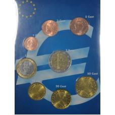 Набор монет евро Люксембург 2013 (В подарочной упаковке книжке)