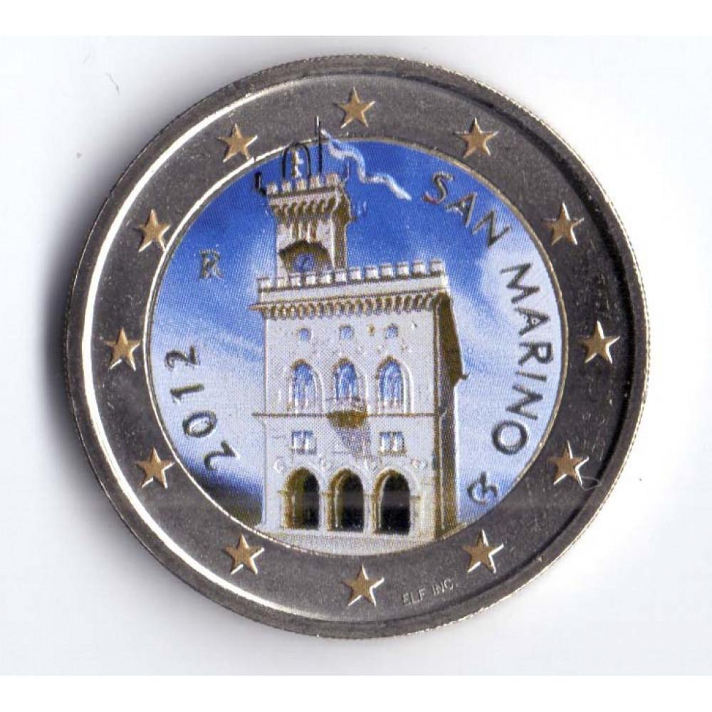 2 евро 2012 Сан-Марино