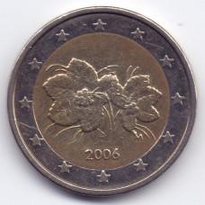 2 евро 2006 года Финляндия - 2 euro 2006 Finland, из оборота