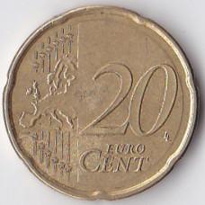 20 евроцентов 2007 Испания - 20 euro cents 2007 Spain