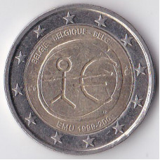 2 евро 2009 Бельгия - 2 euro 2009 Belgium