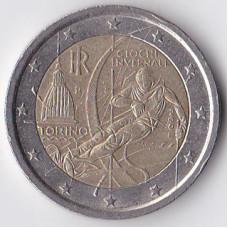 2 евро 2006 Италия XX зимние Олимпийские Игры, Турин 2006