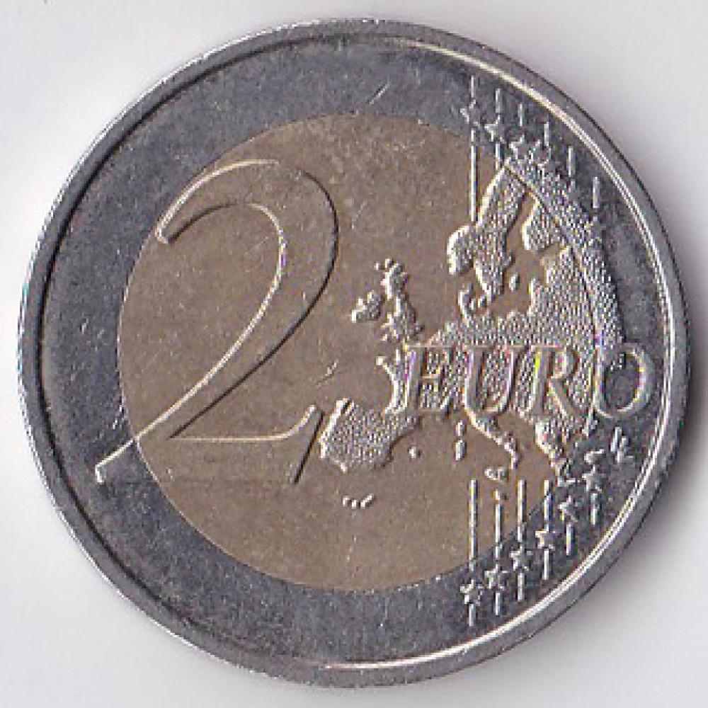 2 евро 2010 Франция 70 лет речи Шарля де Голля «Ко всем французам»