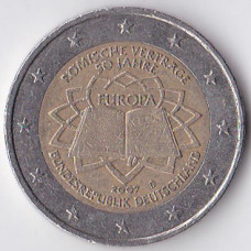 2 евро 2007 Германия - 2 euro 2007 Germany, D