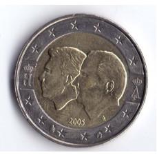 2 евро 2005 Бельгия Бельгийско-Люксембургский экономический союз