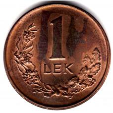 1 лек 1996 Албания - 1 lek 1996 Albania, из оборота
