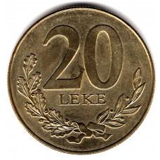 20 леков 2000 Албания - 20 leks 2000 Albania, из оборота