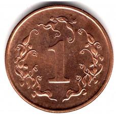 1 цент 1997 Зимбабве - 1 cent 1997 Zimbabwe, из оборота