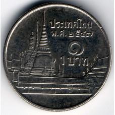 1 бат 2004 Таиланд - 1 baht 2004 Thailand, из оборота