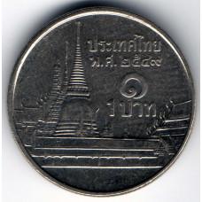 1 бат 2006 Таиланд - 1 baht 2006 Thailand, из оборота