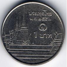 1 бат 2009 Таиланд - 1 baht 2009 Thailand, из оборота