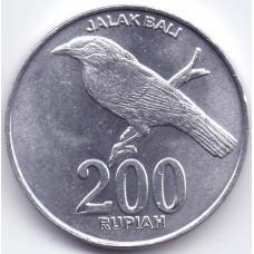 200 рупий 2003 Индонезия - 200 rupees 2003 Indonesia, из оборота