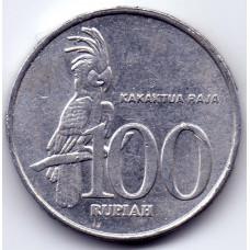 100 рупий 2003 Индонезия - 100 rupees 2003 Indonesia, из оборота